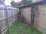 Záhrada - pôvodný stav